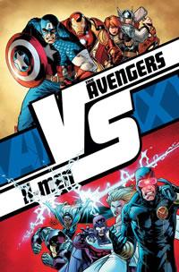 Poster de Avengers vs. X-Men.