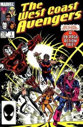 Os Vingadores da Costa Oeste em sua própria revista.