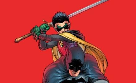 Damian Wayne tem alguns problemas de temperamento.