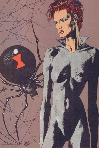 black-widow in 80s