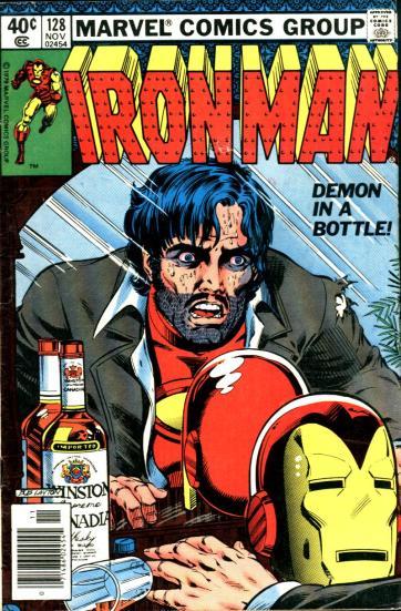 O maior inimigo de Stark: o álcool.