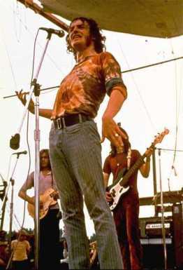 Joe Cocker em Woodstock.