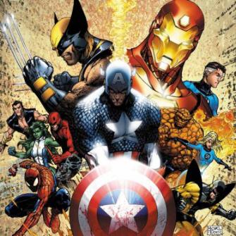 Poster de Guerra Civil por Michael Turner.