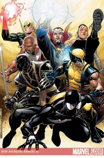Os Novos Vingadores, pós-Guerra Civil nos quadrinhos.