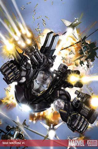 Jim Rhodes se torna o Máquina de Combate, um novo herói.