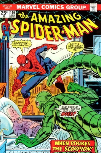 O Homem-Aranha no universo tradicional...