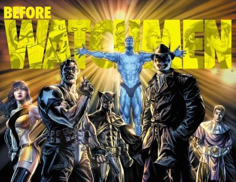 Watchmen na recente arte de Lee Bermejo.