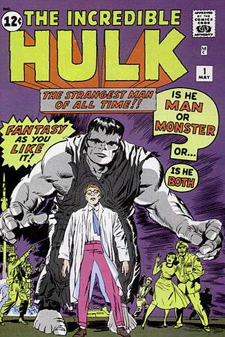 Hulk 1 cover 1962 grey