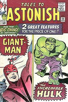 Hulk Tale of Astonish 60 cover 1966