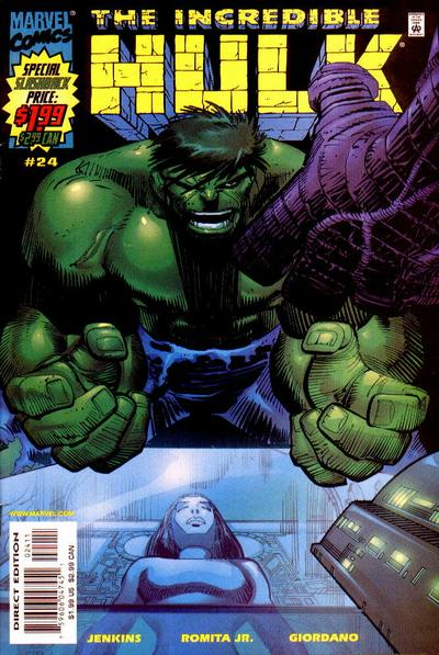 incredible hulk 24 cover by john romita jr