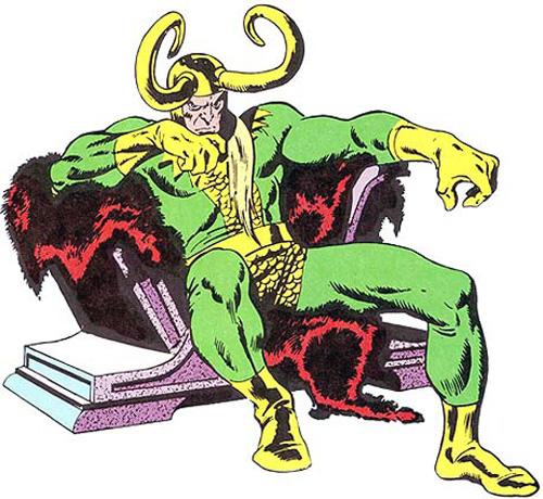 Loki by sal buscema