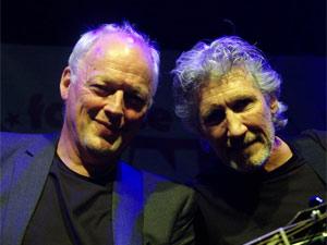 Gilmour e Waters reunidos em 2010: Pink Floyd nunca mais.