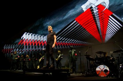 Show de The Wall veio ao Brasil: espetáculo visual.