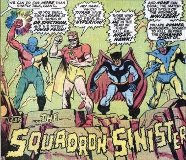 Esquadrão Sinistro: versão Marvel da Liga da Justiça.