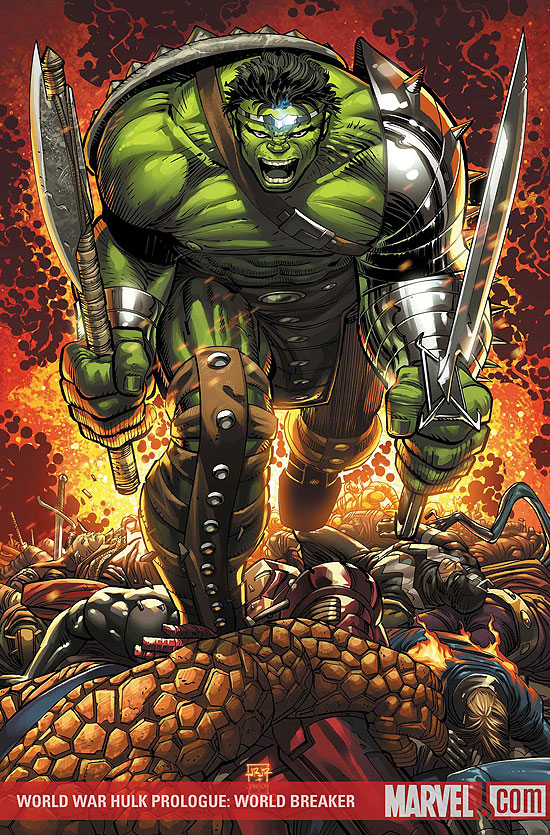 World_War_Hulk by john romita jr