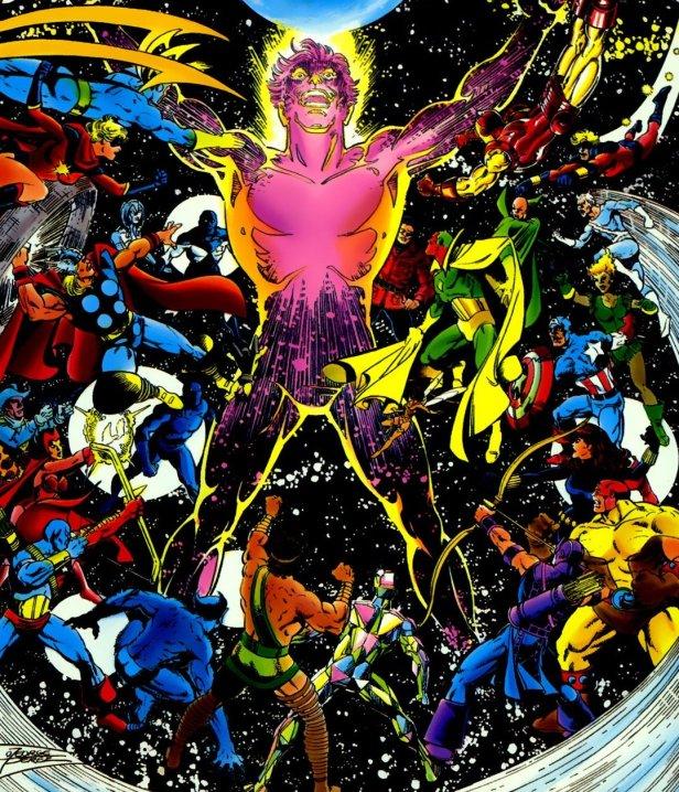 avengers vs korvac