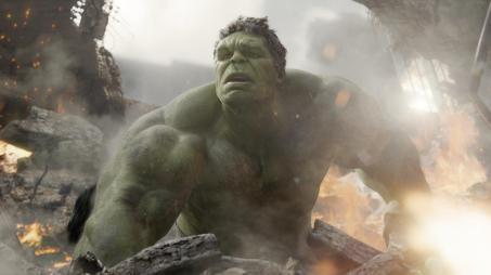 O Hulk em ação em Os Vingadores: uma das melhores coisas do filme.