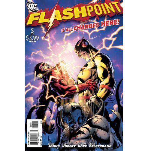 Flashpoint nos quadrinhos: realidade alternativa.