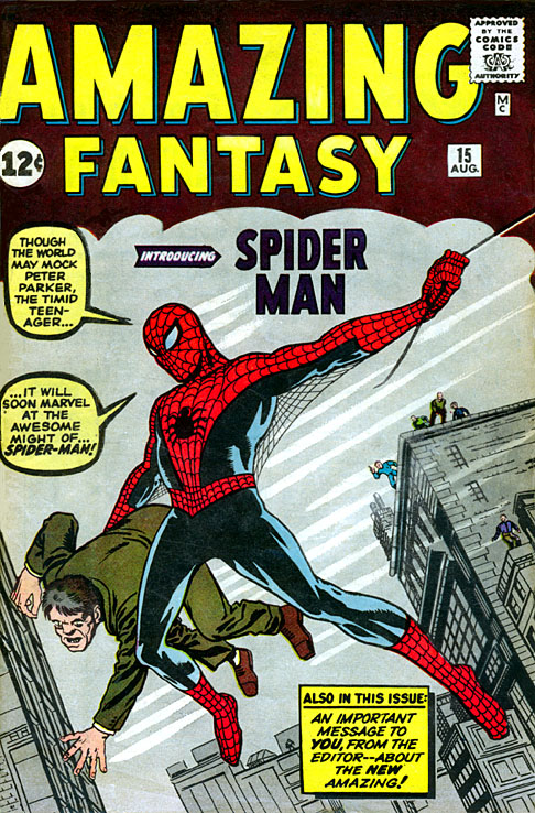 Spider-Man - AmazingFantasy15