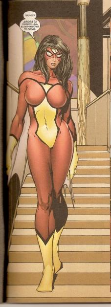 A primeira Mulher-Aranha.