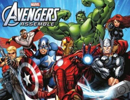 Os Vingadores: Os maiores heróis da Terra.