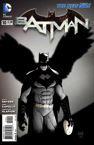 A revista Batman de Snyder e Capullo: maior sucesso da DC.