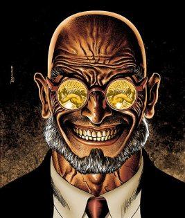 O vilão Hugo Strange está no filme.