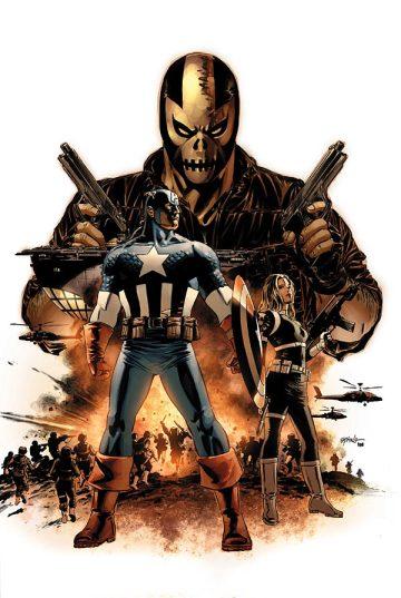 A fase de Brubaker é a principal influência para os filmes do Capitão América no cinema.