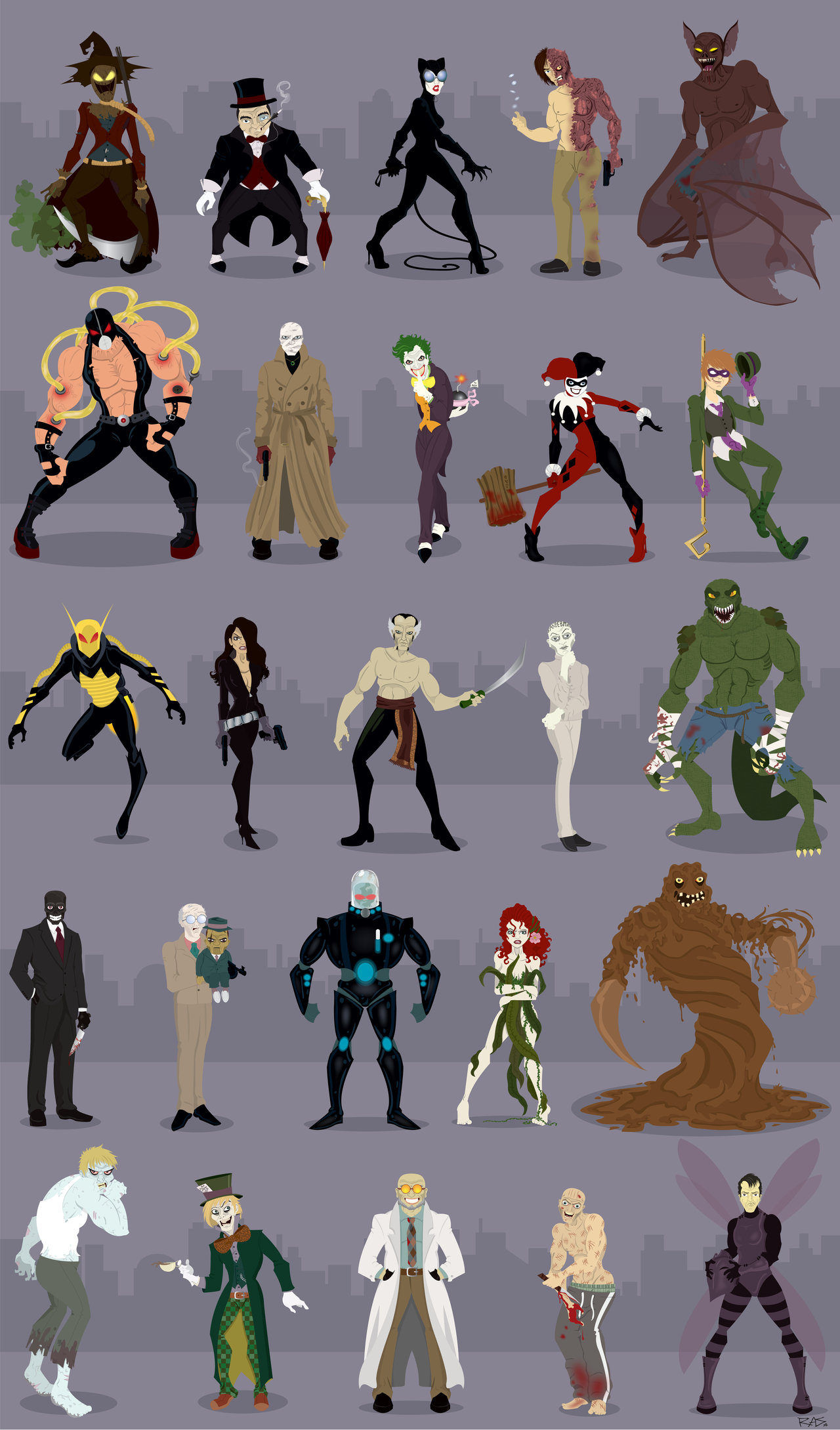 Galeria De Vil  Es Do Batman  A Melhor Dos Quadrinhos