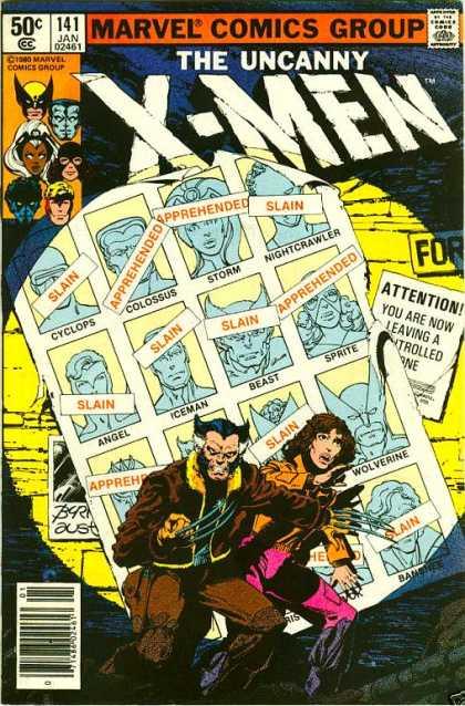 X-Men 141 cover by john-byrne 1981
