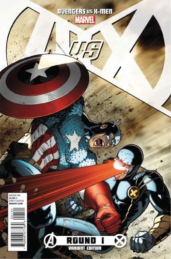 Capitão América vs. Ciclope: guerra entre heróis.