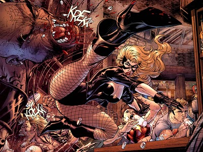 black canary from allstar batman by jim lee