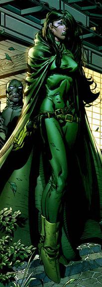 Madama Hidra, vulgo Víbora nos quadrinhos: já apareceu em Wolverine - Imortal. Arte de David Finch.