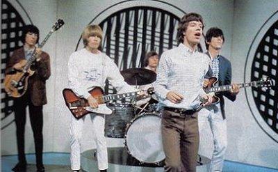 Os Stones ao vivo em 1966.