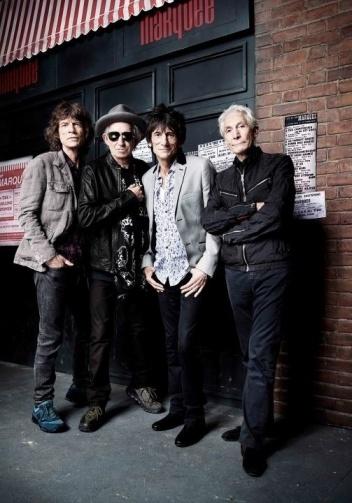 Os Rolling Stones em 2012.