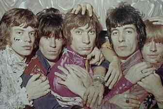 Os Stones aderiram à fanfarra psicodélica.