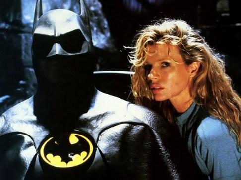 O Batman de Tim Burton e Michael Keaton: sombrio e gótico.