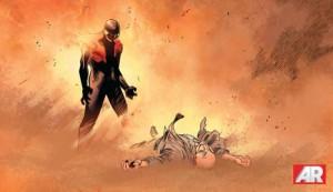 .A morte de Xavier.