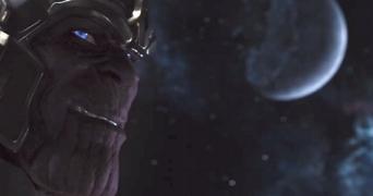 Thanos em Os Vingadores.