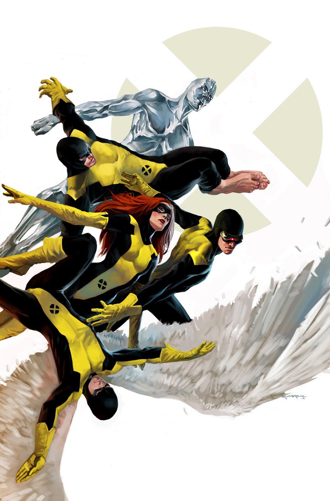 x-men original team modern take