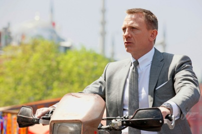 Daniel Craig é o sexto ator a interpretar James Bond.