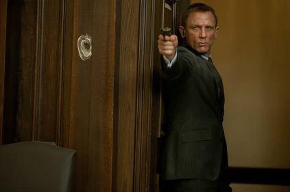 Daniel Craig como James Bond: seguindo o sucesso de Skyfall.