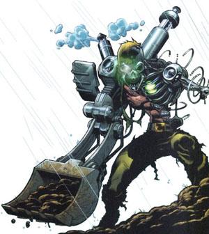 Versão mais radical de Metallo, como ciborgue: no filme?