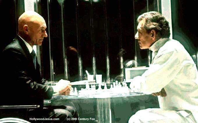 professor x and magneto playing