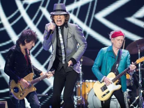 Stones: de volta aos estúdios em 2016.