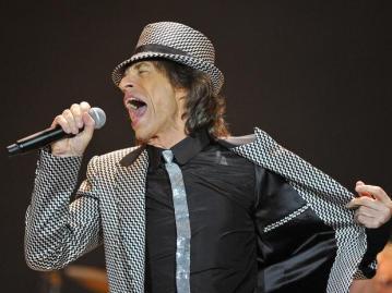 Mick Jagger também tem material.