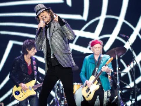 Rolling Stones: estreando em Glastonbury.