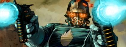 Star Lord: o líder dos Guardiões da Galáxia.