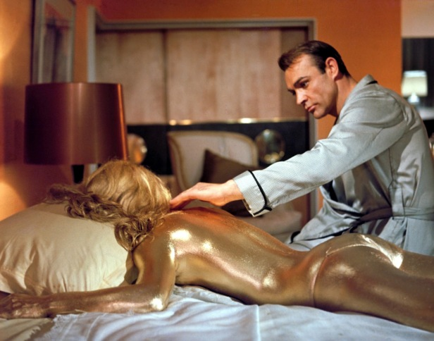 007 goldfinger's gold girl