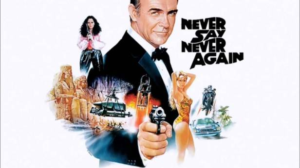 007 never say never again